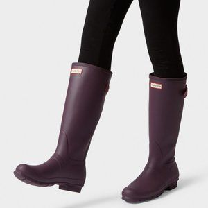 NEW Hunter Original Adjustable Tall Rain Boots 6